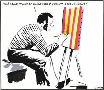 Resultado de imagen de burbuja independentista viñetas