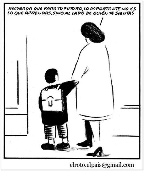 Scriptor.org: El Roto, sobre la escuela